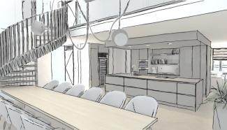 Interieur ontwerpstudie