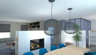 3D ontwerp, lichtplan en design stijlen